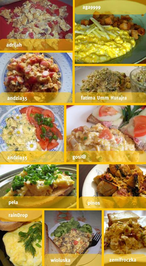 sniadania majowe jajecznica